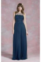Długa suknia TIUL + KORONKA